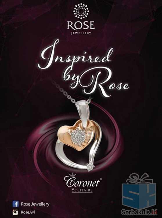 Kontes Inspired By Rose Berhadiah Diamond & Italian Pendant