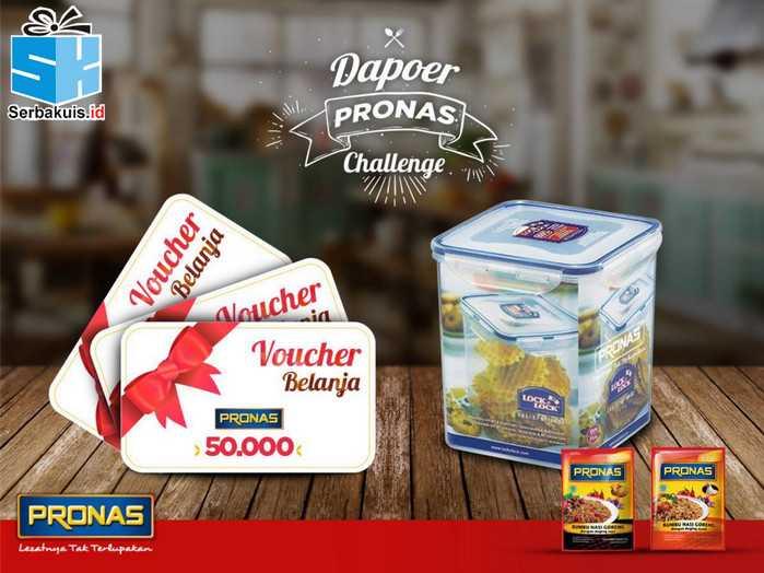 Kontes Kreasi Pronas Berhadiah Lock&Lock dan Voucher
