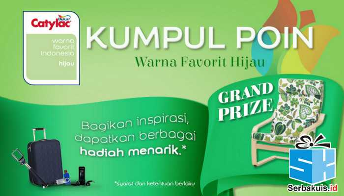 Kontes Poin Warna Favorit Catylac Berhadiah Furniture