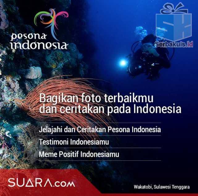 Kontes Suarakan Indonesiamu Hadiah 3 Paket Perjalanan ke Belitung