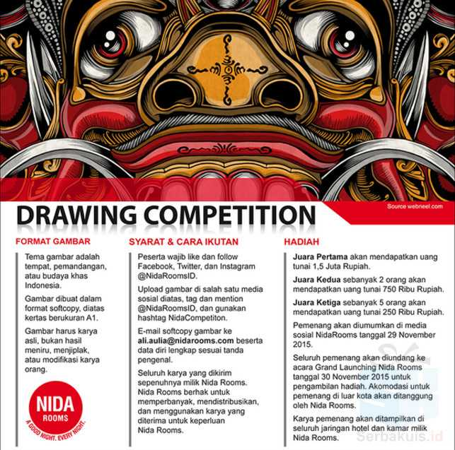 Nida Rooms Drawing Competition