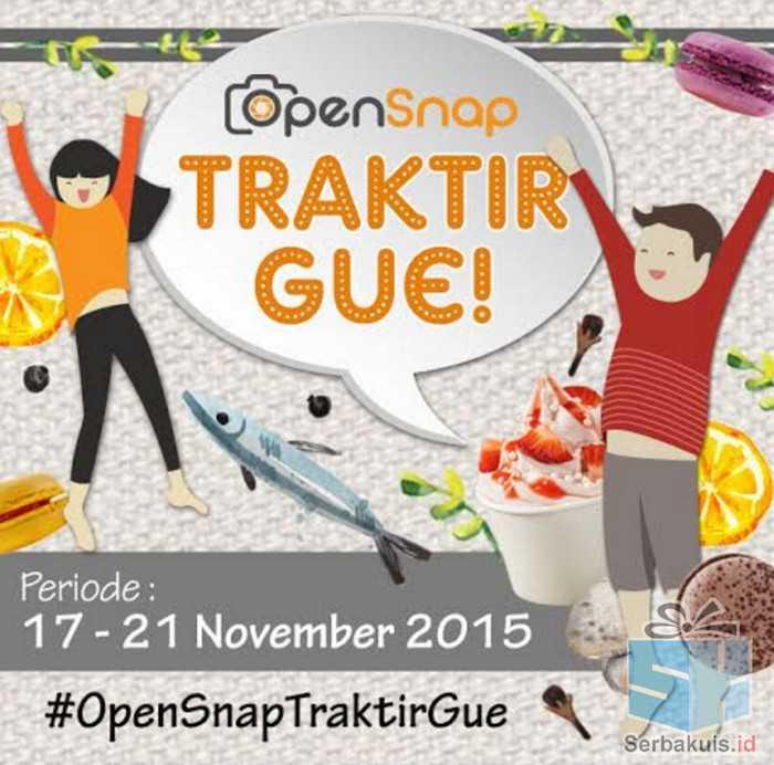 OpenSnap Traktir Gue