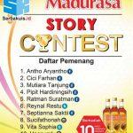 Pengumuman Pemenang Madurasa Story Contest