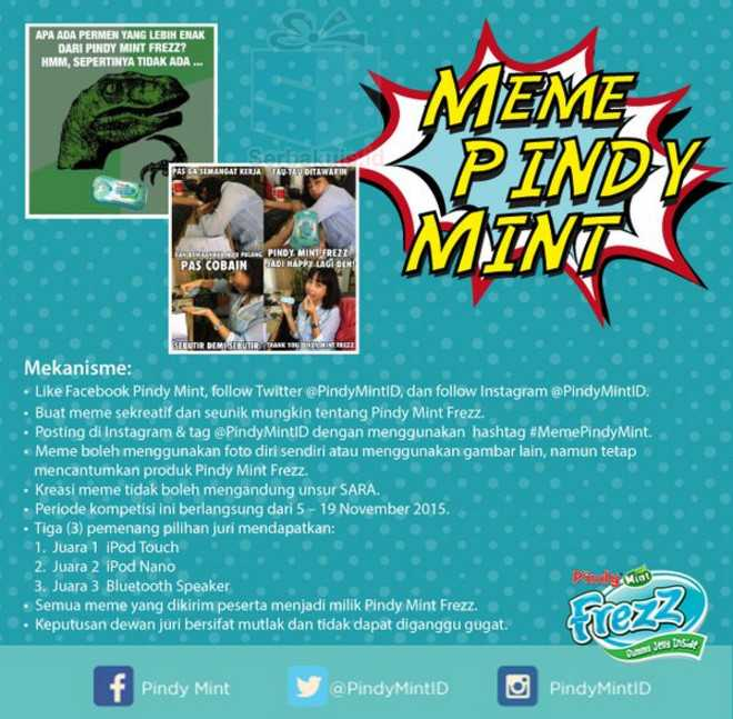 Pindy Mint Meme Contest