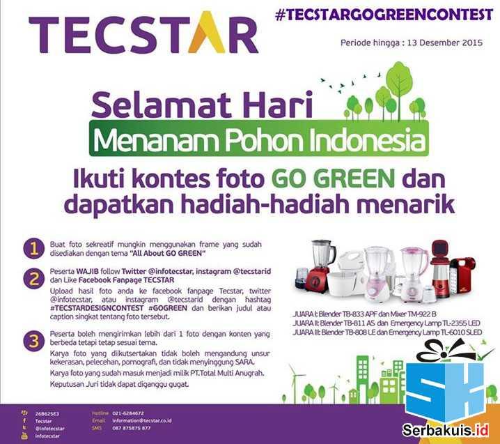 Tecstar Go Green Photo Contest