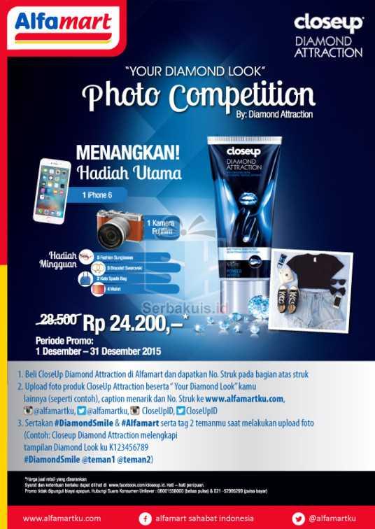 Kontes CloseUp Attraction Alfamart Berhadiah iPhone 6