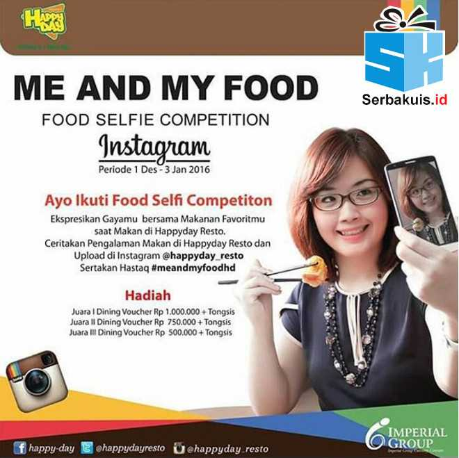 Me and My Food Selfie Competition by Happyday Resto