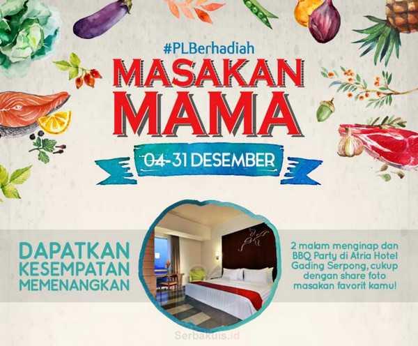 Kontes Foto Masakan Mama Berhadiah Nginap di Atria Hotel