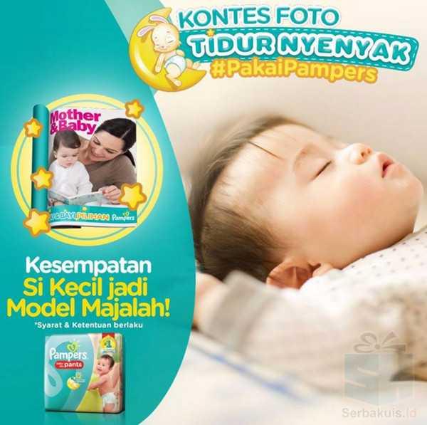 Kontes Foto Pampers Berhadiah Jadi Model Majalah