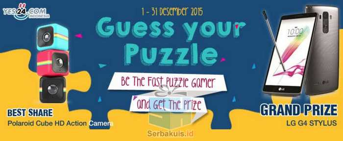 Kontes Guess your Puzzle Yes24 Berhadiah LG G4 Stylus