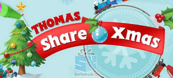 Kontes Mewarnai Thomas Share Xmas Berhadiah 8 Juta