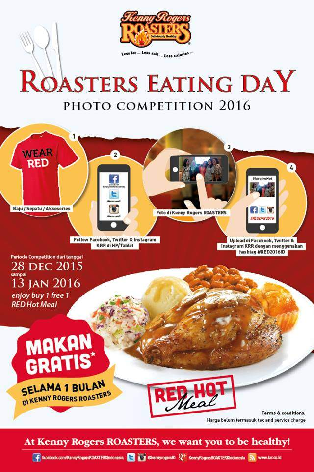Roasters Eating Day Photo Competition 2016