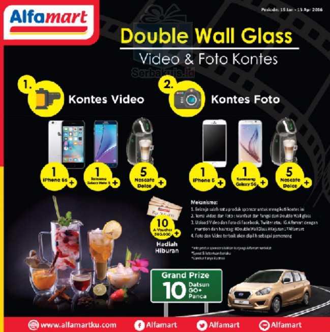 Kontes Foto & Video Double Wall Glass Berhadiah 2 iPhone