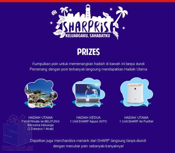 Kontes Sharprise 2016 Berhadiah TV SHARP Aquos IIOTO