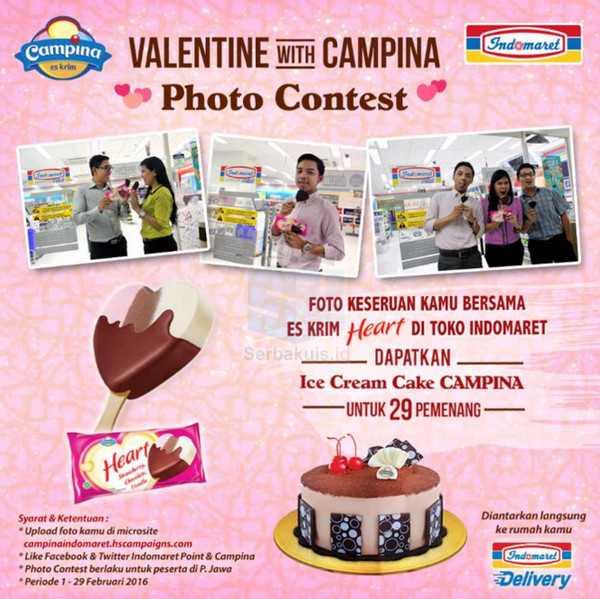 Kontes Valentine With Campina Berhadiah 29 Ice Cream Cake