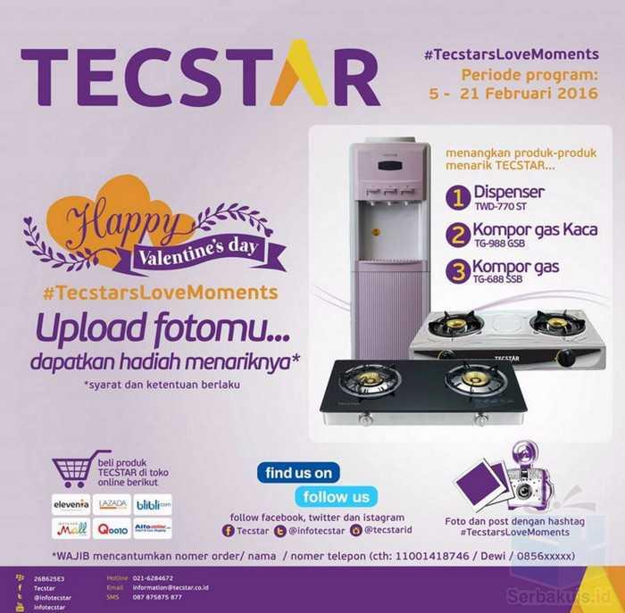 Promo Tecstar Love Moment Berhadiah Dispenser TWD-770 ST