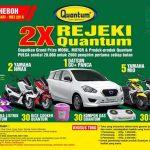 Undian 2X Rejeki Quantum Berhadiah Mobil Datsun & 7 Motor