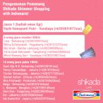 Pemenang Promo Shikada Shimmer Shopping with Indomaret