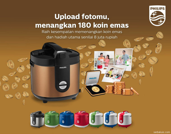 PHILIPS GOLD RICE COOKER PROMOTION INDONESIA