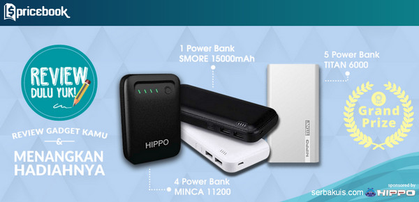 Review Gadget Lagi Yuk Menangkan 10 Powerbank Berkapasitas Besar + Kaos
