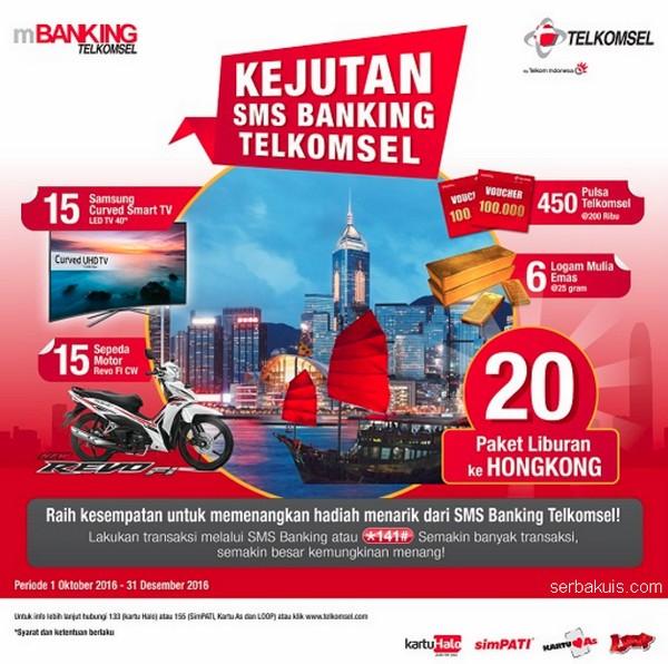 Kejutan SMS Banking Telkomsel 2016