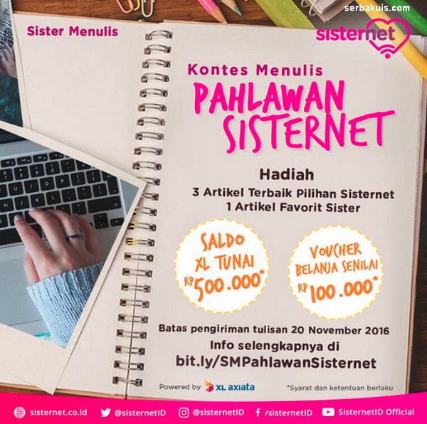 Kontes Menulis Pahlawan Sisternet
