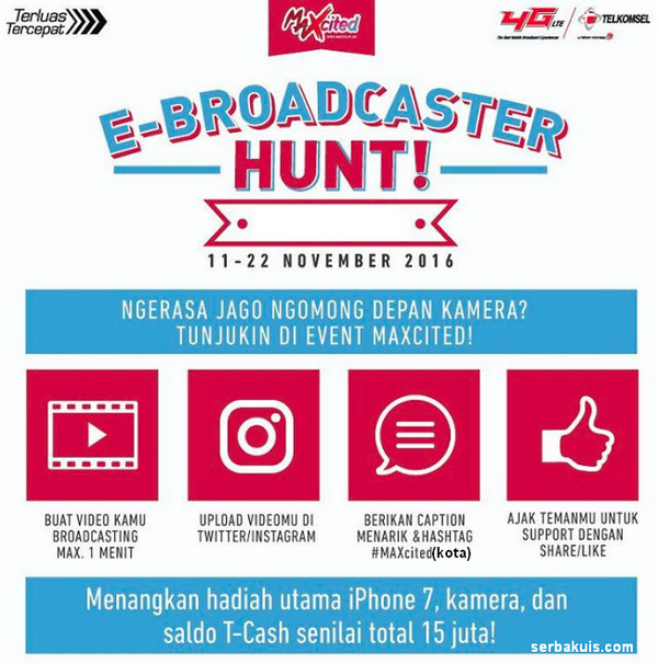 E-Broadcaster Hunt!