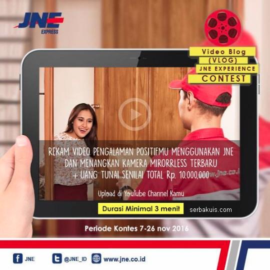 Video Blog (VLog) JNE Experience Contest