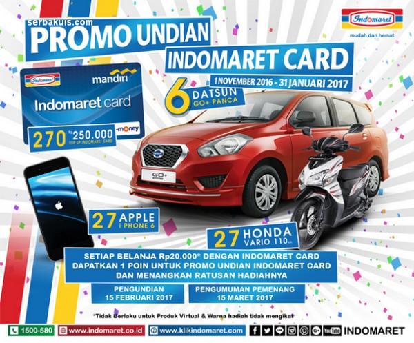 Promo Undian Indomaret Card