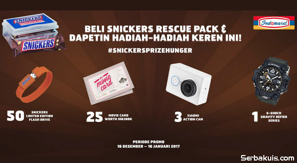 Undian Snickers Prize Hunger