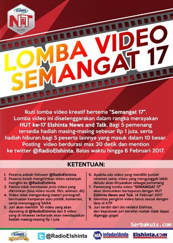 Lomba Video Semangat 17