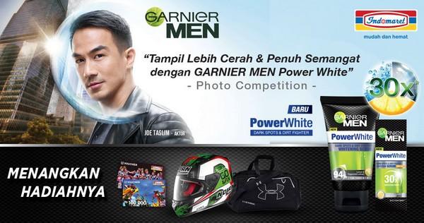 Garnier Men Power White Photo Competition