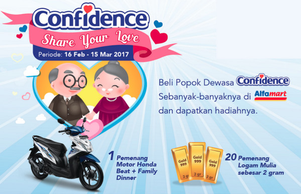 Share Your Love Confidence