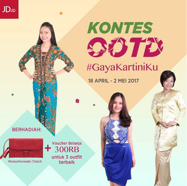 Kontes OOTD Gaya Kartiniku