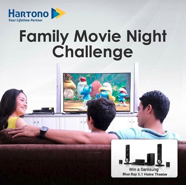 Family Movie Night Challenge