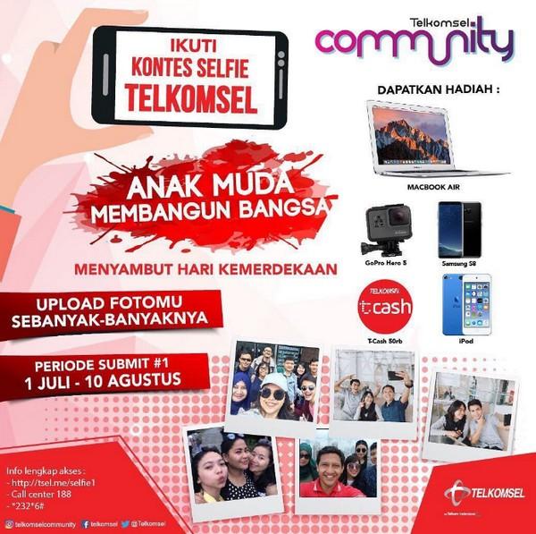Kontes Selfie Telkomsel