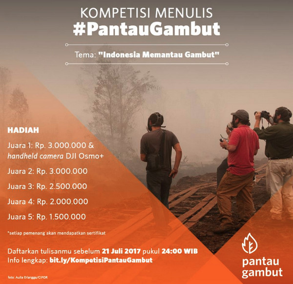 Indonesia Memantau Gambut