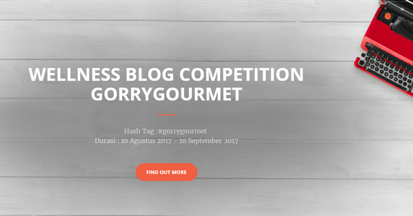 Wellness Blog Competition