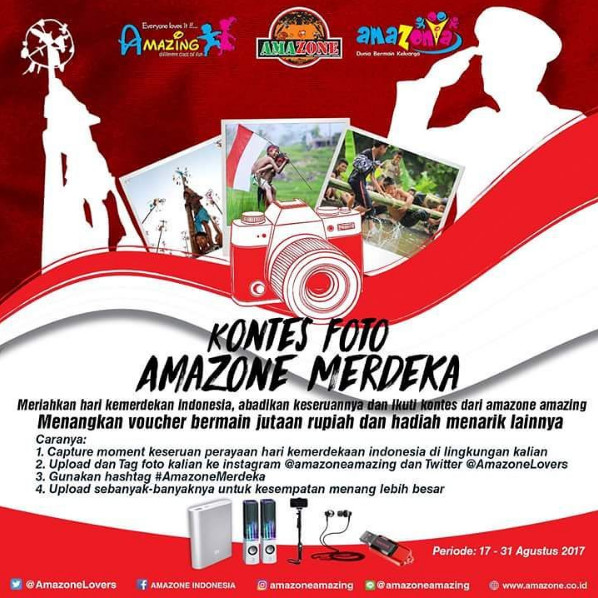 Kontes Foto Amazone Merdeka