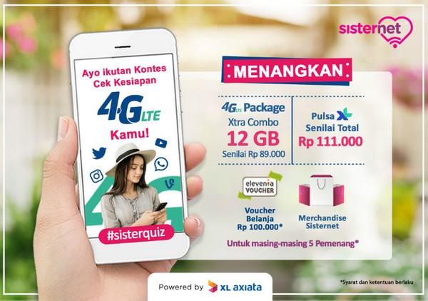 Cek Kesiapan 4G LTE