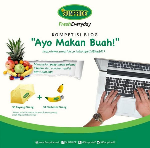 Kompetisi Blog Ayo Makan Buah