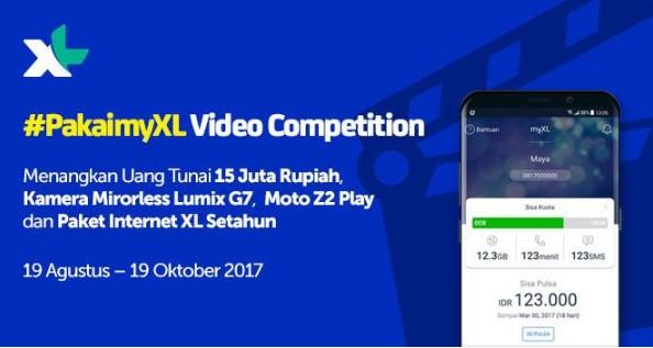 Pakai My XL Video Competition