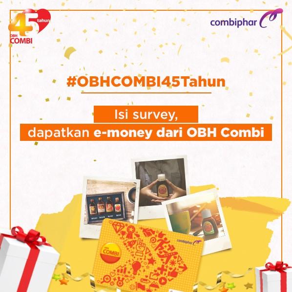 Survey 45 Tahun OBH COMBI