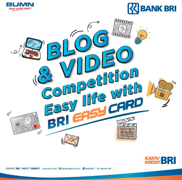 BRI Easy Card Vlog Contest
