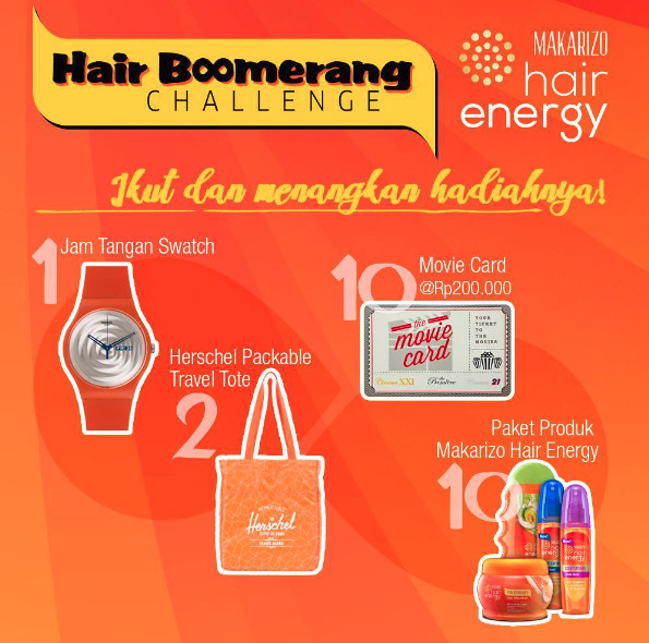 Hair Boomerang Challenge