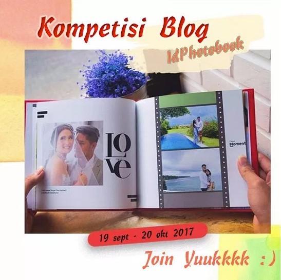 Lomba Blog ID Photobook Berhadiah Uang 4,2 Juta & Voucher Diskon