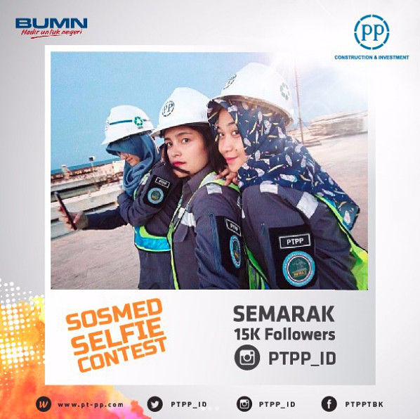 Semarak 15K Followers @PTPP_ID