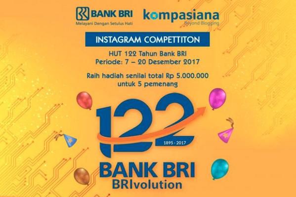 HUT 122 Tahun Bank BRI