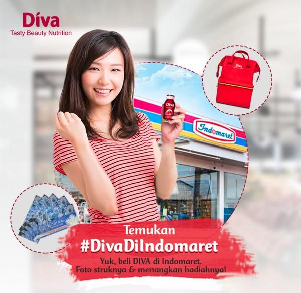 Promo Diva Di Indomaret Berhadiah Voucher MAP 1,5 Juta + 3 Tas Cantik