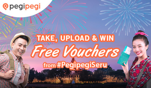 Take, Upload and Win Free Voucher